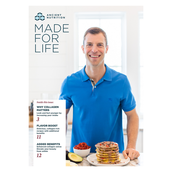Free Gift! Ancient Nutrition Made for Life Catalog 2020