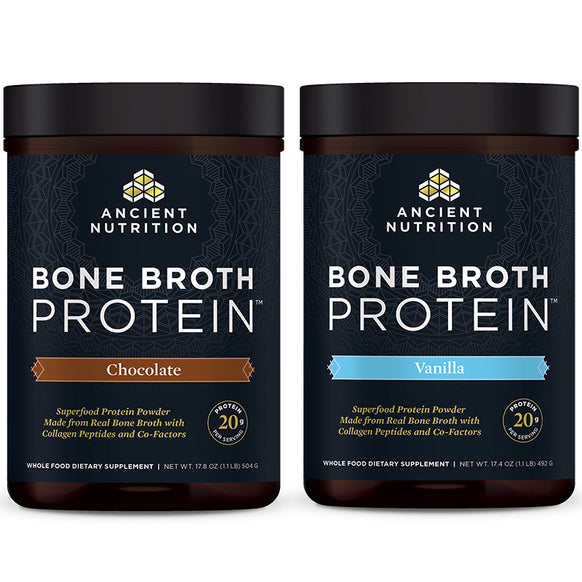 Bone Broth Protein Chocolate and Vanilla