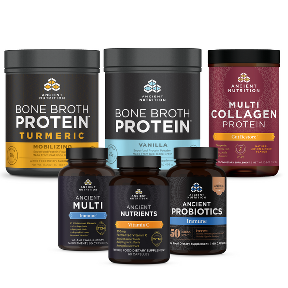 Master Gut and Immune System Support Bundle