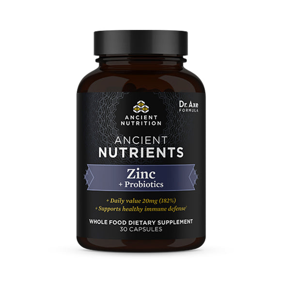 Ancient Nutrients - Zinc + Probiotics