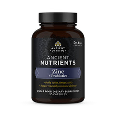 Photo of Ancient Nutrients - Zinc + Probiotics