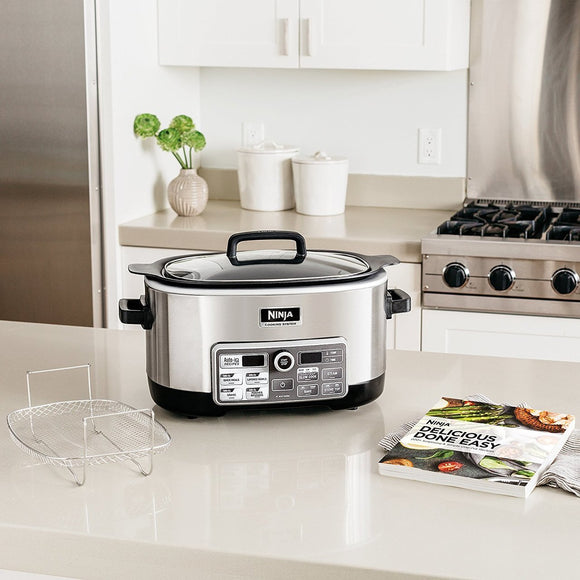 Ninja Cooking System with Auto-iQ (CS960) 6-qt. capacity