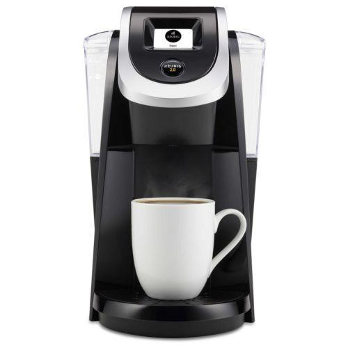Keurig K250 Single-Serve K-Cup Pod Coffee Maker Black