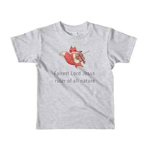 Fairest Lord Jesus | Children's Hymn T-Shirt