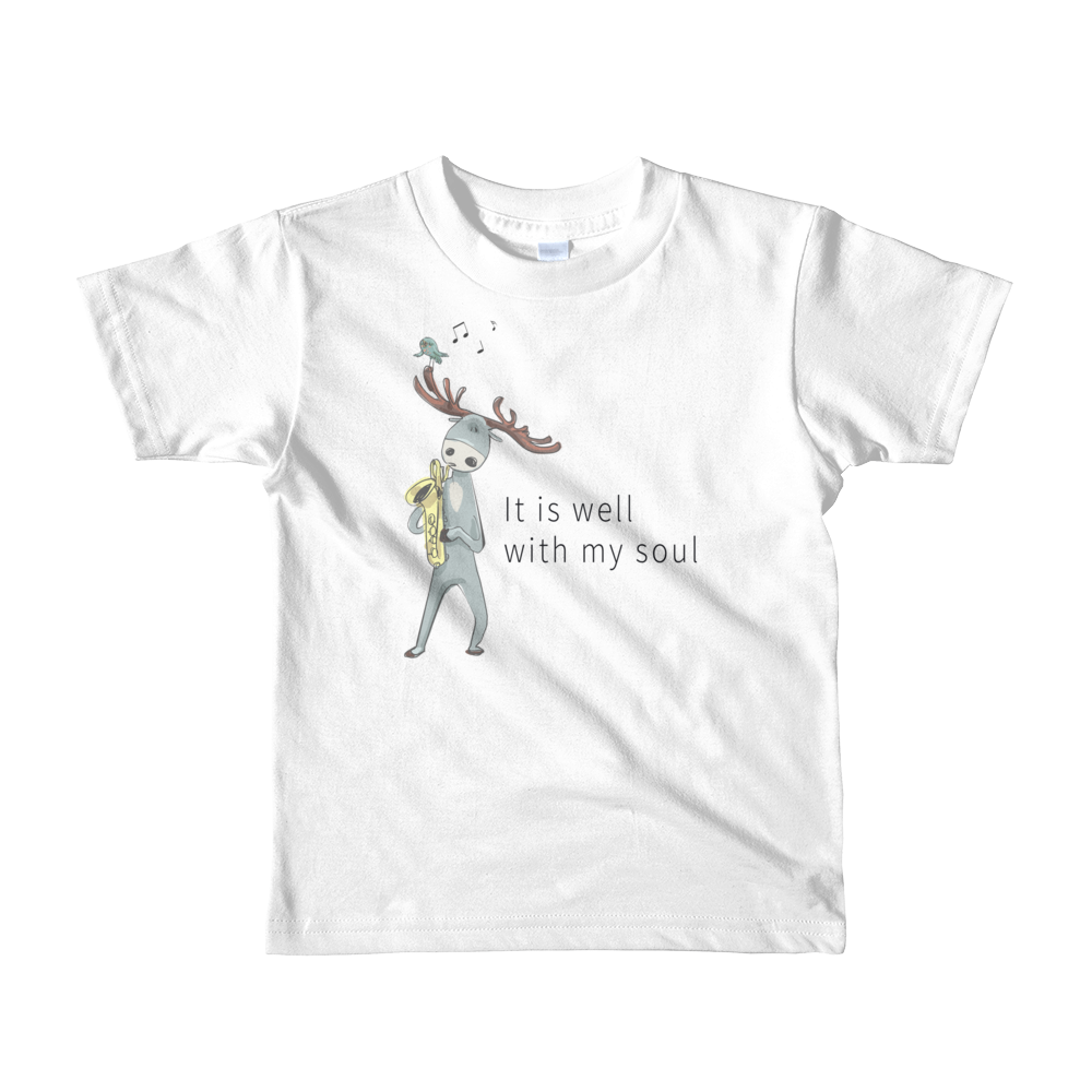 It Is Well | Children's Hymn T-Shirt