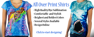 Dye Sublimation T Shirt Printing FAQ