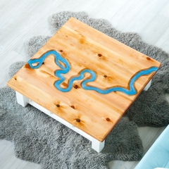 West Carson River Table - Inspire Woodworks