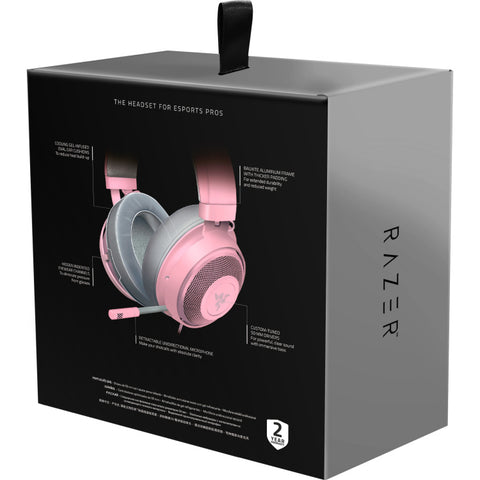 Razer Kraken headset - Quartz Pink Edition