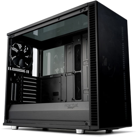 Fractal Design Define S2 Vision - Blackout Midi Tower Black