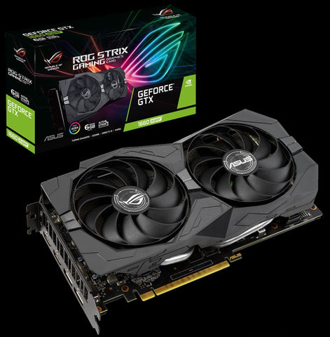 ASUS 6GB D6 GTX 1660S ROG STRIX GAMING