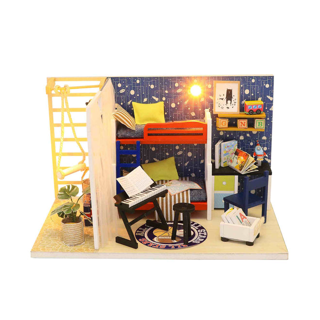 DIY Small Miniature Dollhouse