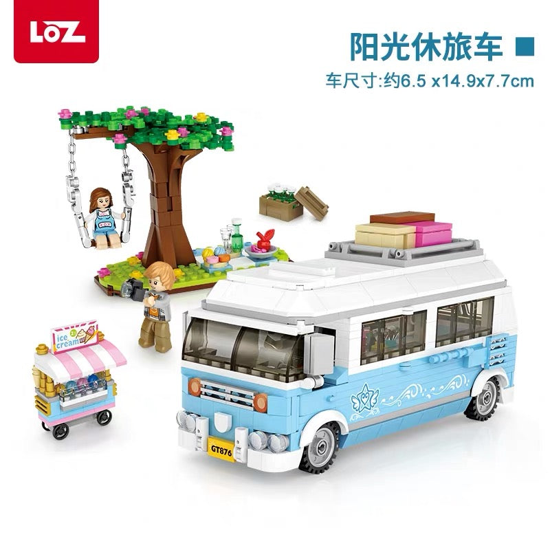 LOZ Mini Blocks ATV RV Van (1198) Mini Building Block Toys Gift for Boys & Girls with Original Box