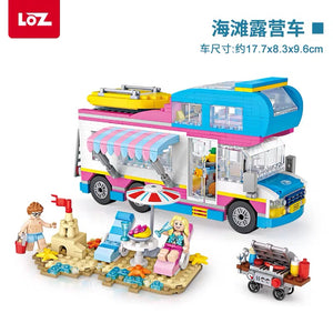 LOZ Mini Blocks ATV RV Van (1199) Mini Building Block Toys Gift for Boys & Girls with Original Box