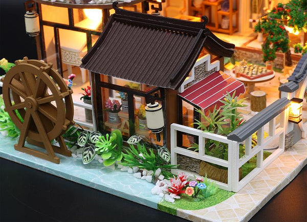 DIY Dollhouse Furniture Kits 'Dream back in Ancient Town' Wooden Miniature Doll House Beautiful Gifts Birthday Presents Wedding Presents