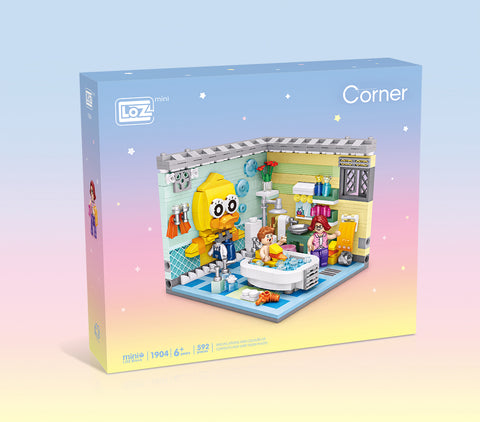 LOZ Corner Mini Blocks Bathroom (1904) Building Block Toys with Original Box