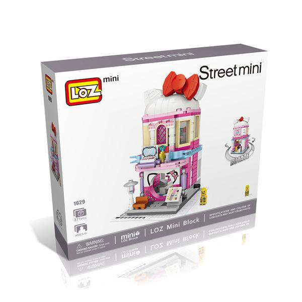 LOZ Mini Nano Diamond Building Block Street Building Block Toy - COSMETICS STORE (1629)