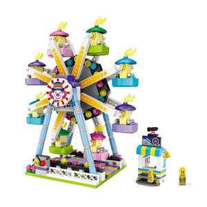 Amusement / Theme Park Ferris Wheel Mini Building Blocks (#1718)