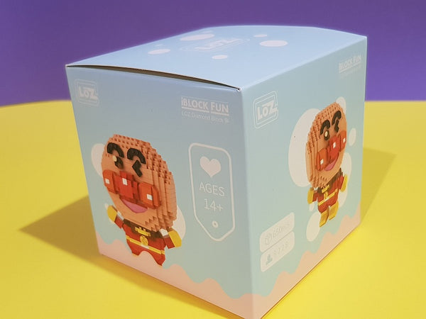 LOZ Mini Blocks Anime  Anpanman Diamond Blocks Bricks Educational Toy Hobbies (#9228)