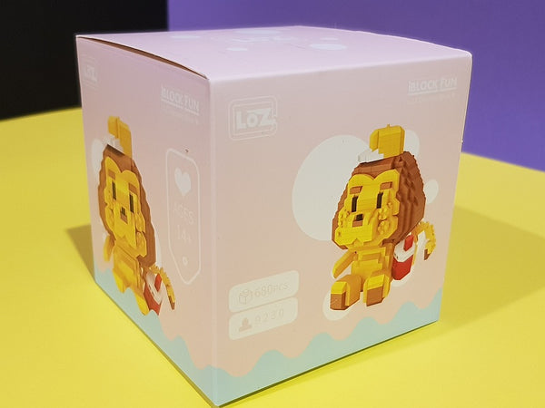 LOZ Mini Blocks Anime  Lion Diamond Blocks Bricks Educational Toy Hobbies (#9230)