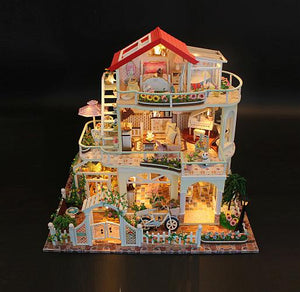 Assemble Doll House 'Be Enduring as the Universe' (13845) Wooden Miniature Dollhouse Anniversary Gifts