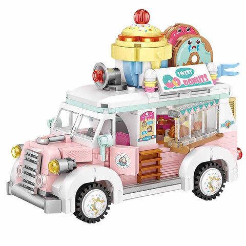 LOZ Mini Blocks Food Truck (1738) Building Block Toys for Children Birthday Presents