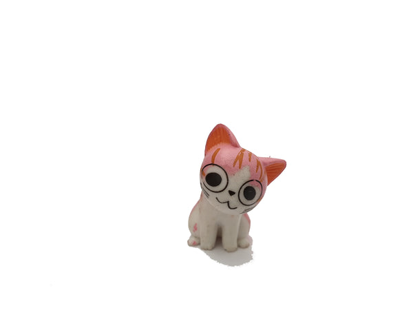Miniature Pink Cats for Miniature Dollhouse