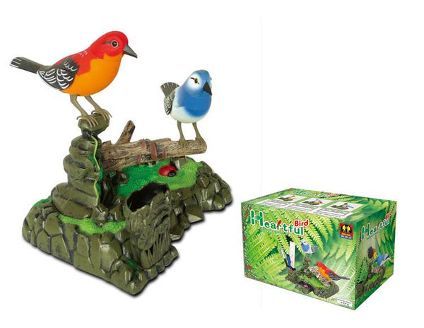 Sound Sensor Control Singing Bird Voice-Activated Bird Toy Surprise Gift Birthday Gift for Kids
