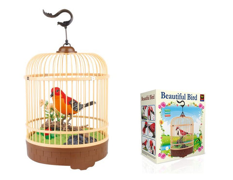 Recording Function Bird in Cage Surprise Gifts for Friend Birthday Gifts for Sister