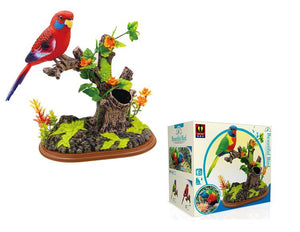 Lorikeet Sound Control Bird Simulation Bird Pen Holder Design Toy Gifts Birthday Present