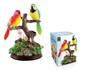 The Ensemble Birds Electronic Voice-Activated Parrot Birds Pen Pencil Holder Best Presents