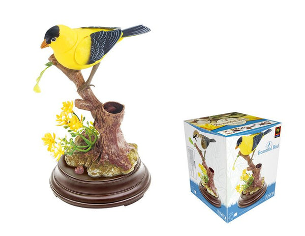 Sound Control Bird Sparrow the Ensemble Bird Beautiful Birds Gifts Toy Pen Pencil Holder