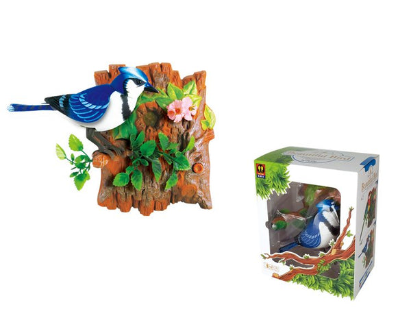 Wall-hanging Eastern Rosella / Blue Jay Sound Sensor Function Bird Birthday Presents
