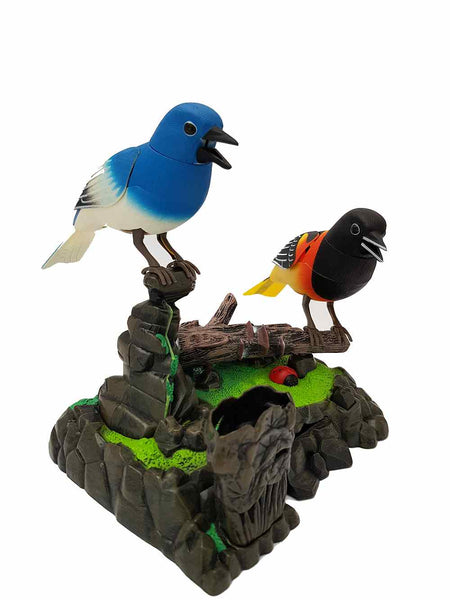 Noise Control Bird Simulation Bird Pen Holder Design Cute Gifts Birthday Present