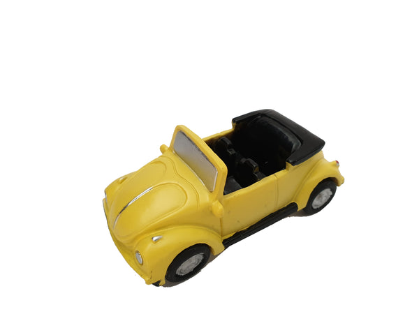 Miniature Yellow Car