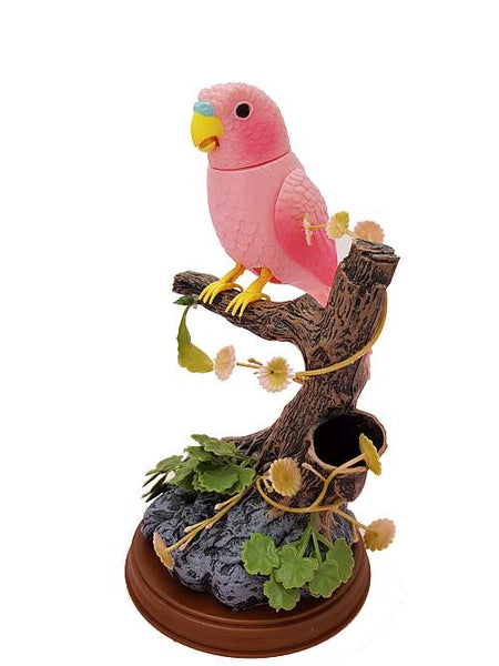 Green Parrot Pink Parrot Electronic Talking Repeating Parrot Recording Function Bird Surprise Gifts
