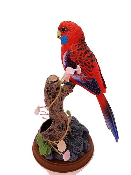 Electronic Talking Repeating Parrot Yellow Melopsittacus Undulatus Recording Function Bird Surprise Gifts