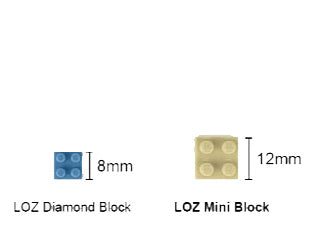 LOZ Mini Nano Diamond Building Block Street Shop Building Block Toy - GAME SHOP (1642)