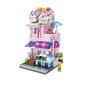 LOZ Mini Street Shopping Block Toy- CAKE SHOP (1621)