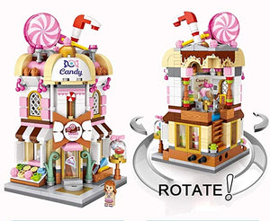 LOZ Mini Street DIY Mini Nano Diamond Building Block shop - CANDY SHOP (1644)