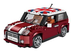 LOZ Mini Blocks Mini Copper Car Model (1111) Block Toys for Children with Original Box