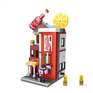 LOZ Mini Street DIY Mini Building Block Toy - COCA COLA STORE