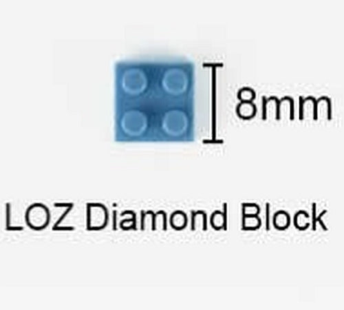 LOZ Diamond Blocks Cartoon Moon Chibi Japanese Anime Action Figures Building Bricks DIY Character Toys for Children (#9211)