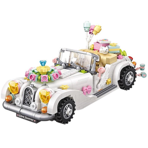 LOZ Mini Blocks Wedding Car (1119) Block Toys for Children with Original Box