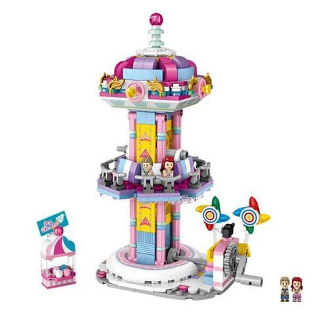 Amusement /Theme Park Drop Zone Mocmini Mini Building Blocks (#1727)