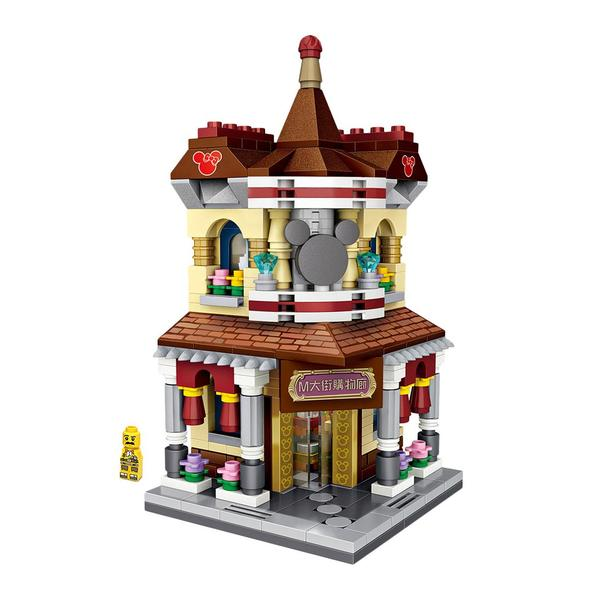 LOZ Mini Street Mini Building Block Shopping Street - SHOPPING GALLERY (1632)