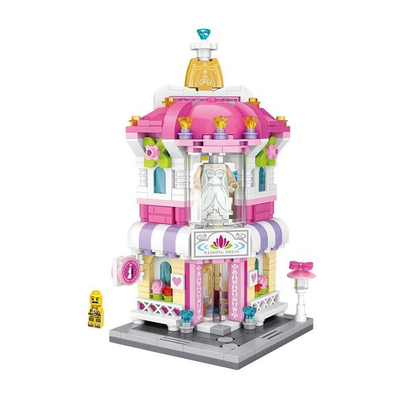 LOZ Mini Nano Diamond Building Block Shopping Street - WEDDING DRESS SHOP (1636)
