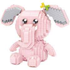 LOZ Diamond Blocks Elephant Building Bricks Character Toys for Children (#9226)