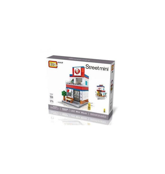 LOZ Mini Nano Diamond Building Block Street Shop - KFC (1605)