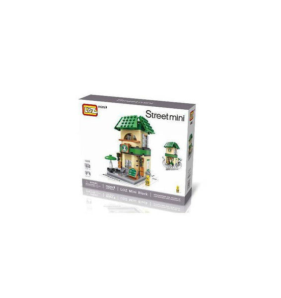 LOZ Mini Block Shopping Street Building Block Shop - STARBUCKS COFFEE (1608)