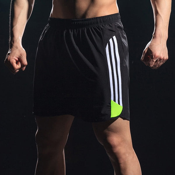 Men's Striped Casual Pocket Breathable Board Short